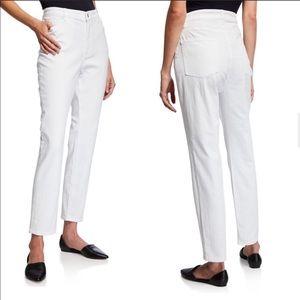 Eileen Fisher | Organic Cotton High-Waist Jeans